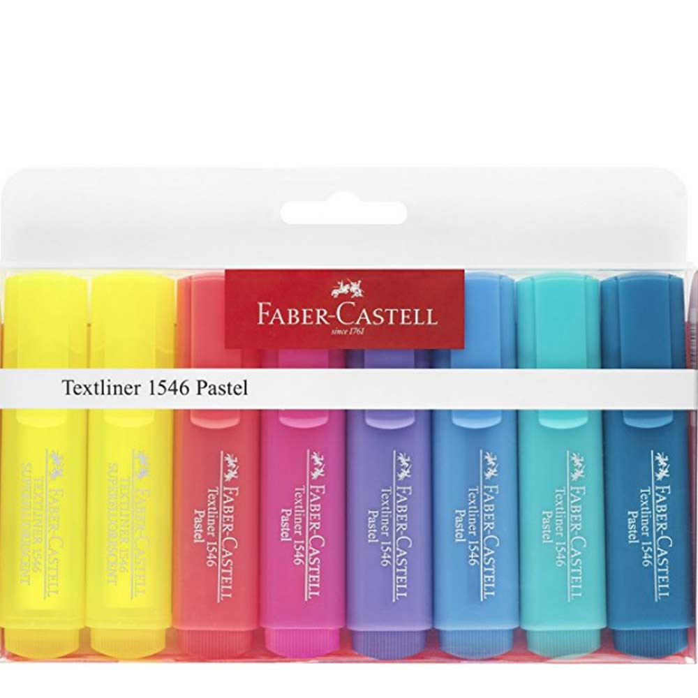 marcadores faber castell